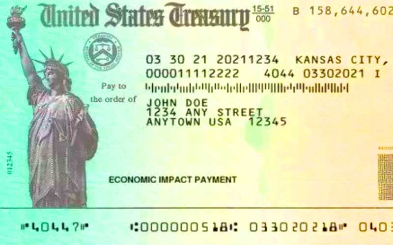 Third stimulus checks on the way quickly.