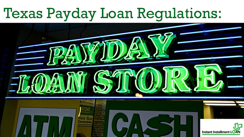 Texas Payday Loan Regulations