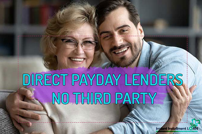 direct payday lenders only no third party